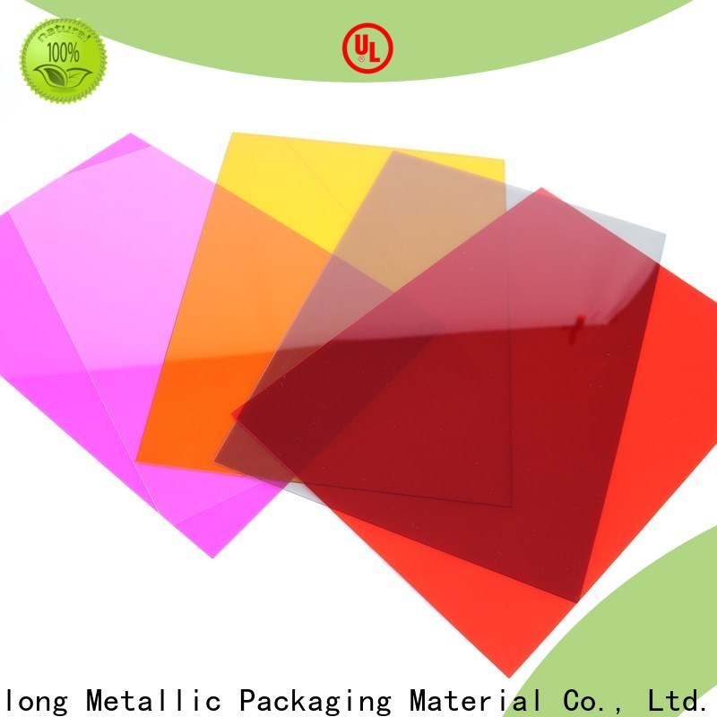 Cailong Textured polycarbonate film factory price for liquid crystal displays
