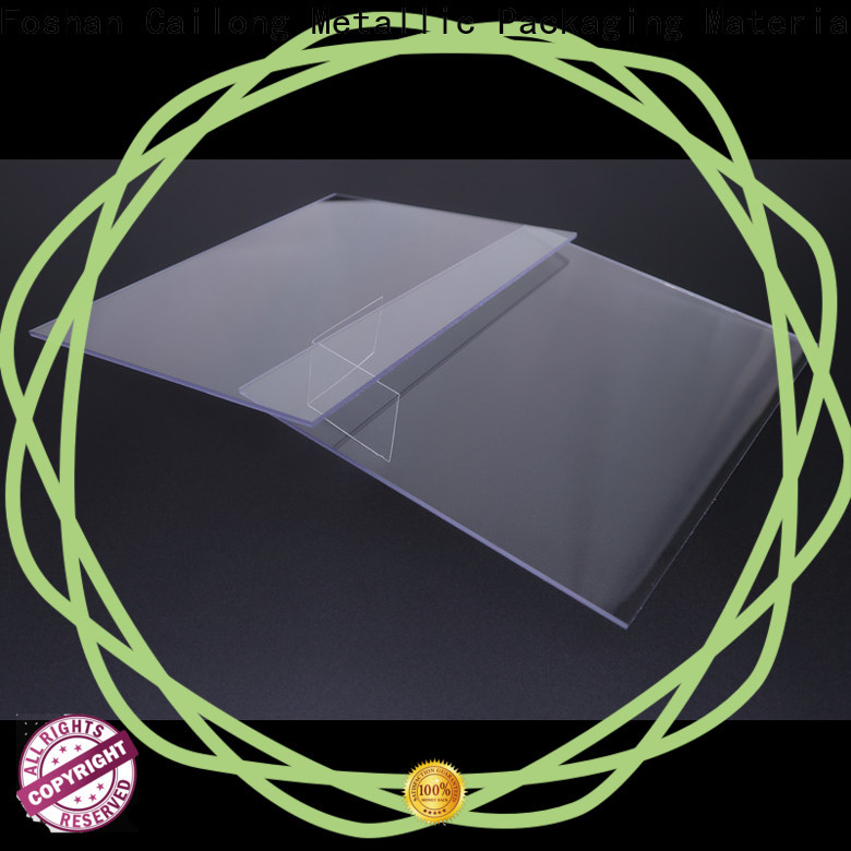 Cailong Transparent polycarbonate film wholesale for LED lighting