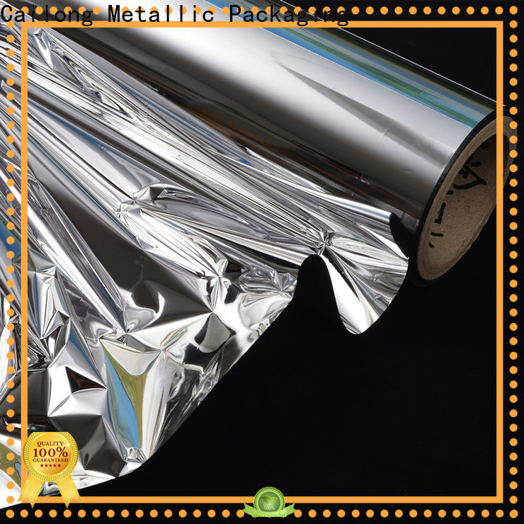 Cailong Vacuum Metallized metal film buy now used for labels