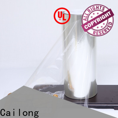 Cailong highly transparent aluminized plastic management for meat
