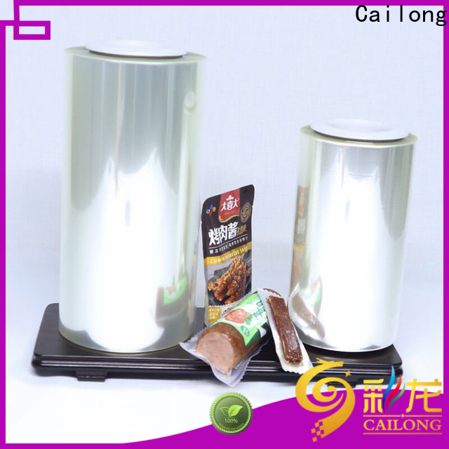Cailong petaloxt aluminized plastic certifications for meat