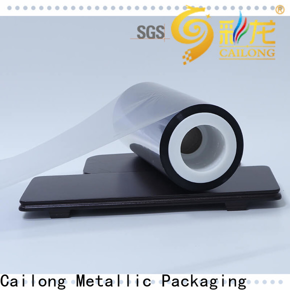 High barrier metalized mylar semimetallized type for decorative materials