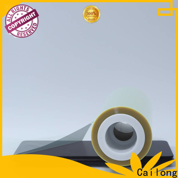 Cailong humanized plastic film roll free design for shopping bag