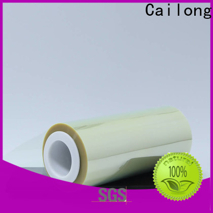 Cailong fine- quality anti static film free quote decorative materials