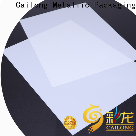 Cailong Transparent polycarbonate film directly sale for LED lighting