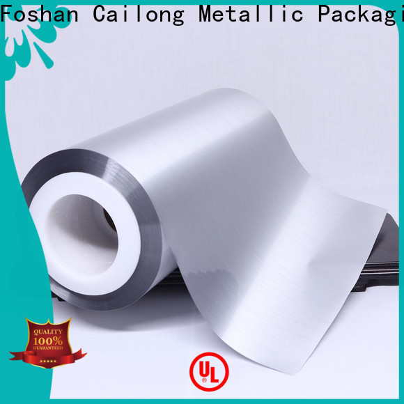 Cailong Aromas metalized paper price used for stickers