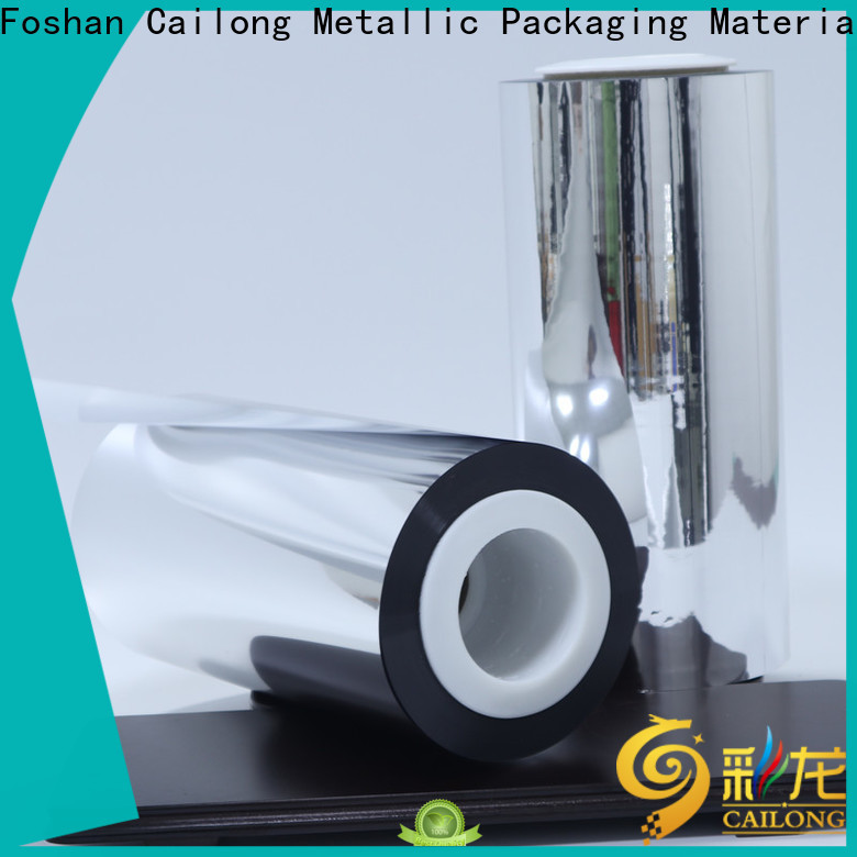 Cailong High flex crack resistance metallic film price for product