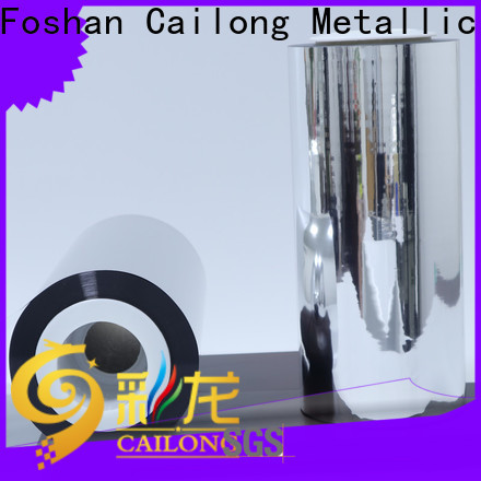 Cailong film metalized pet film effectively for decorative materials