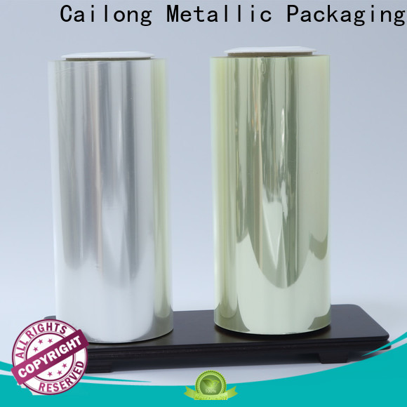 Cailong protective thin polyester film supply for candy