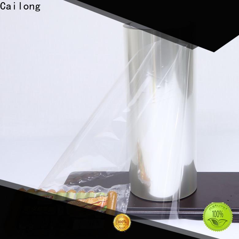 Cailong Retortable transparent foil for candy