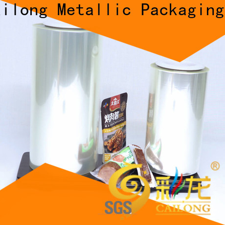 High Barrier film pet printable marketing for military products