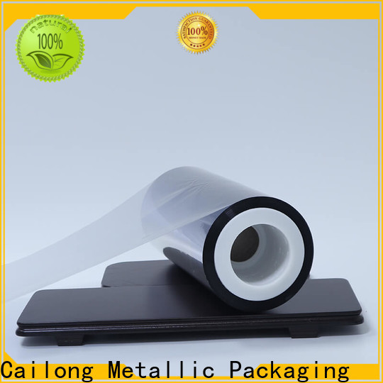 Cailong semimetallized metallic film price ffor Decorative