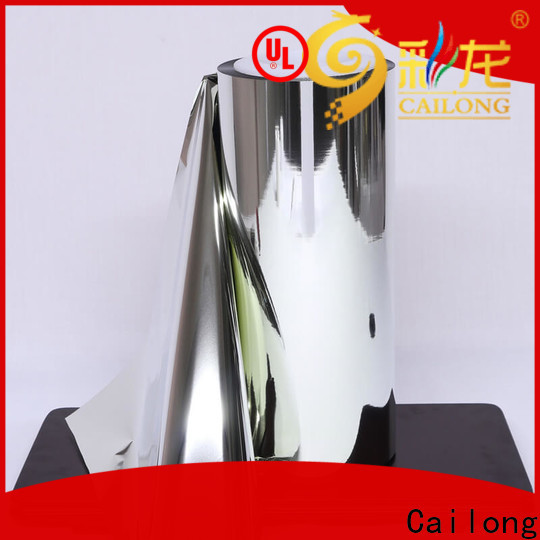 Cailong fine- quality metallized polyester film at discount used for printing
