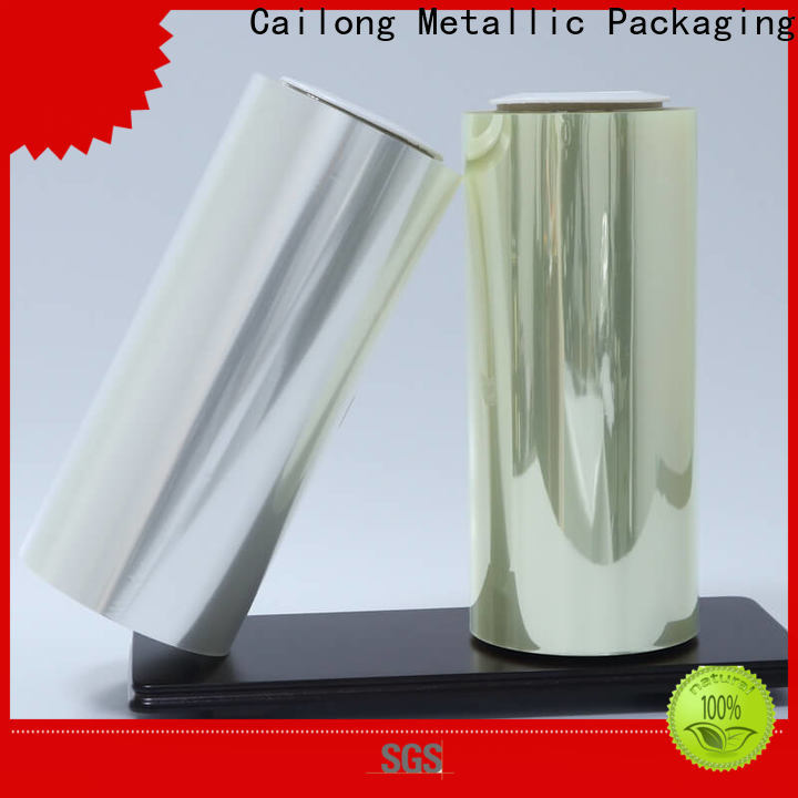 High Transparent film polyester printing certifications for shopping bag