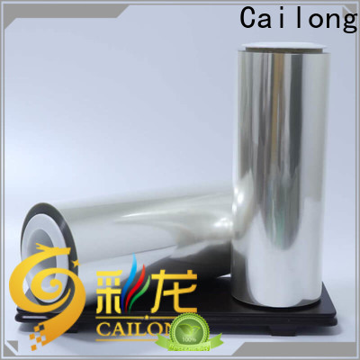 Cailong sealable clear plastic film widely-use for shopping bag
