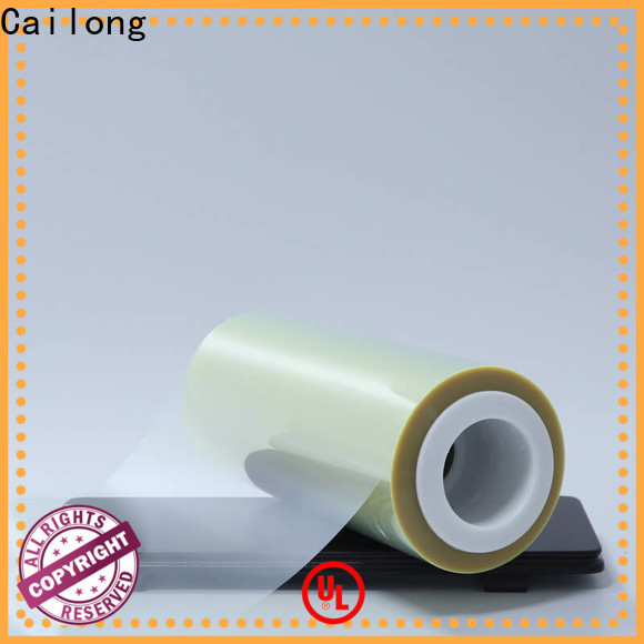 Cailong twist transparency film factory price used for labels