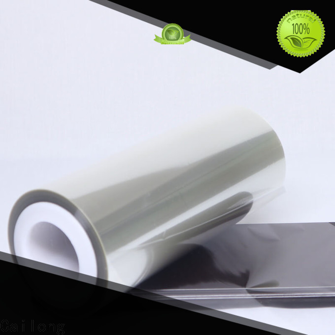Cailong solid transparency film used for labels