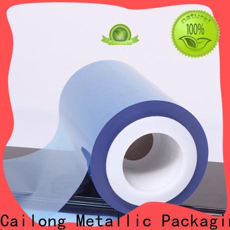 environmental plastic film white for advertising