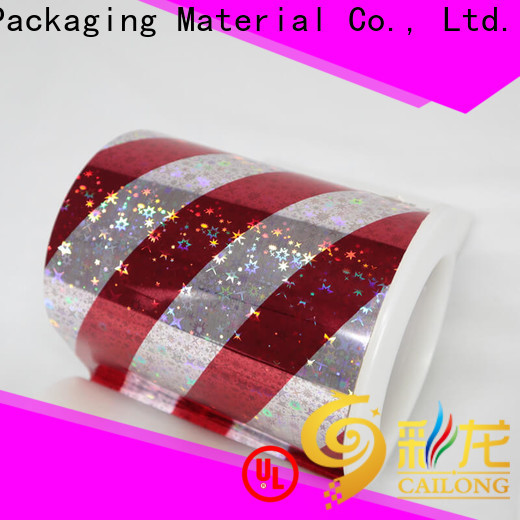 superior holographic plastic sheets roll from manufacturer for tobacco
