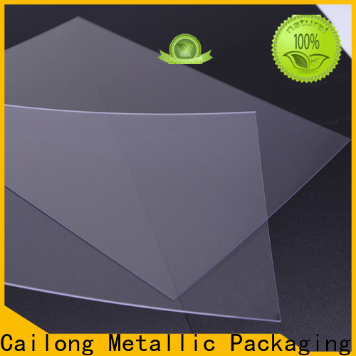 Cailong transparent transparent polycarbonate sheet from China for electronic appliances