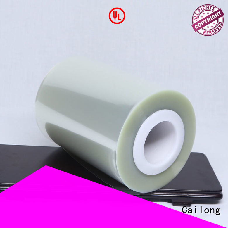 plain pet film material heat for medical packaging Cailong