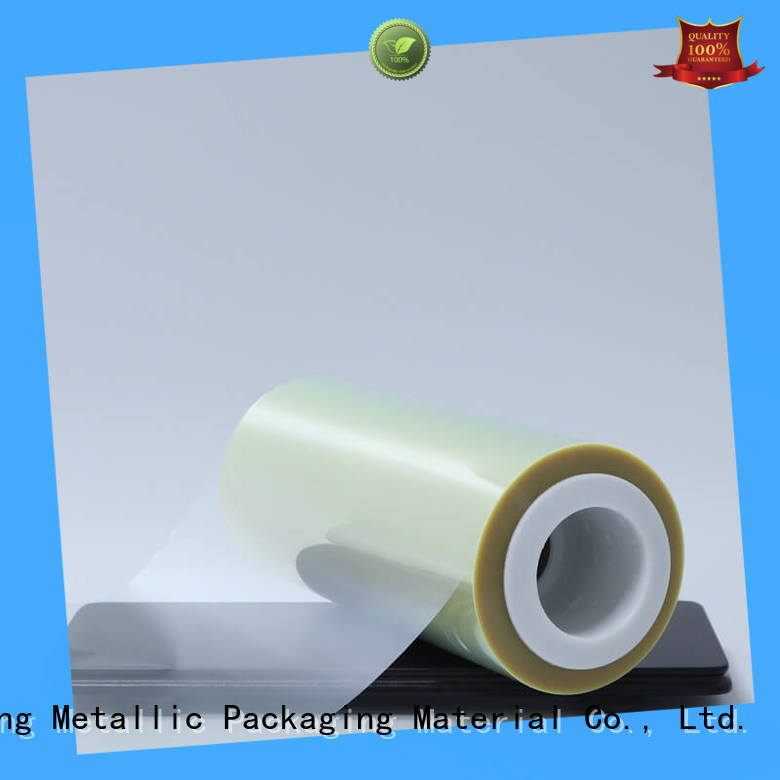 Cailong advanced pet film material bulk production for stickers