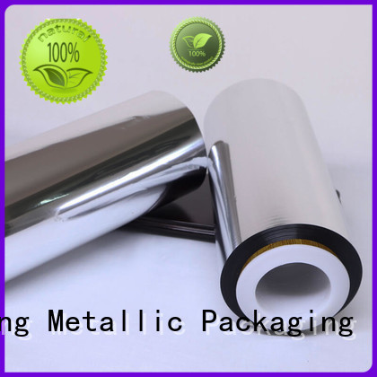 Cailong high-quality metallized plastic film film used for printing
