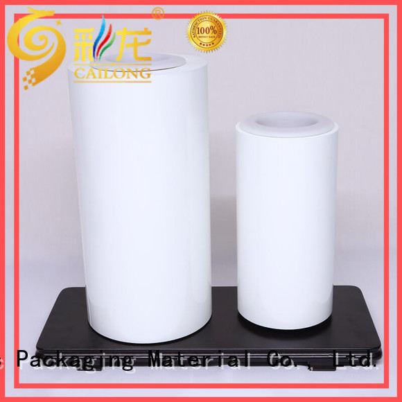 Cailong effective color transparency film supply for printing