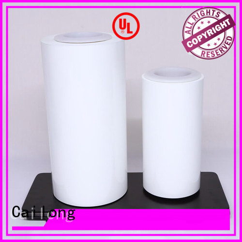 Cailong coating pvc film vendor for packing foor