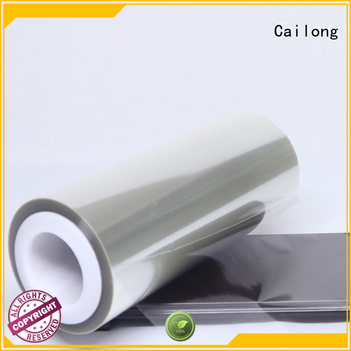 Cailong petty heat transfer film bulk production used for labels