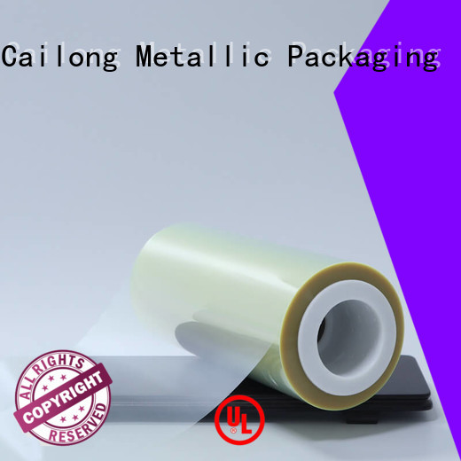 Cailong solid ultra thin pet film used for labels