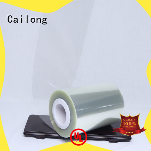 Cailong petty ultra thin pet film supplier used for labels