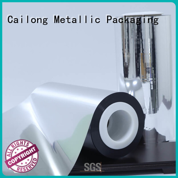 Cailong metallizing metalized mylar price for meat