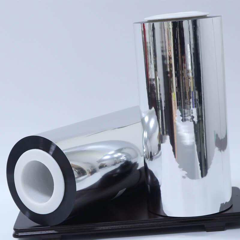 Metallized Chemical Enhanced Coating PET Film ( VMPET-JQ )