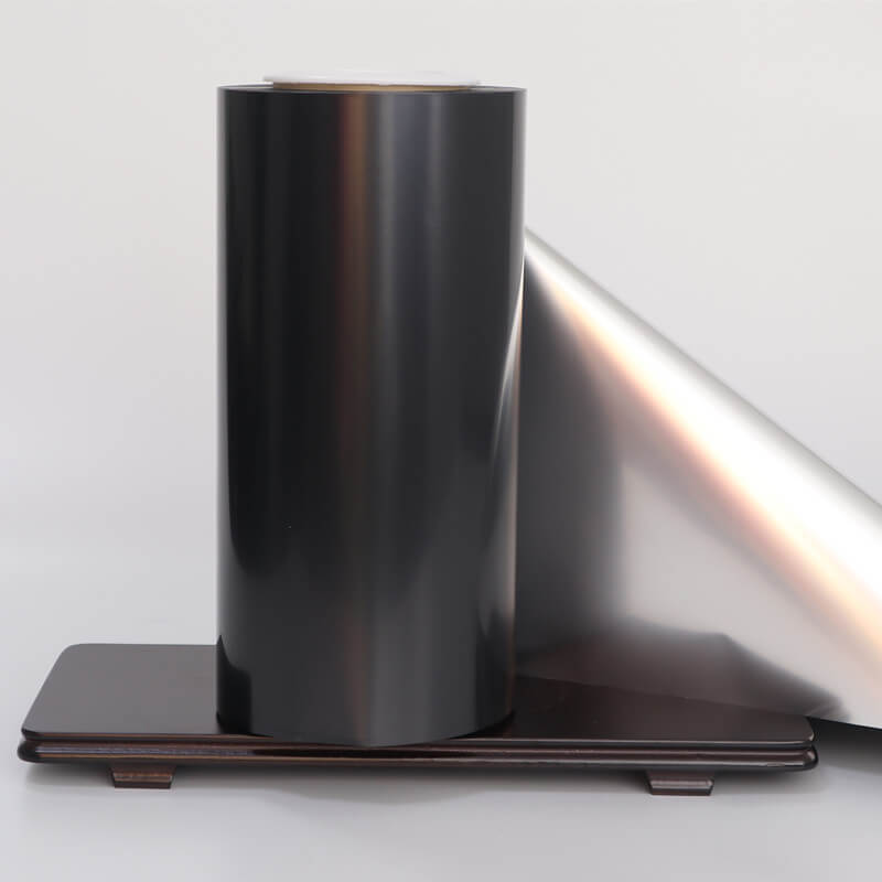 Black Color Metallized PET Film