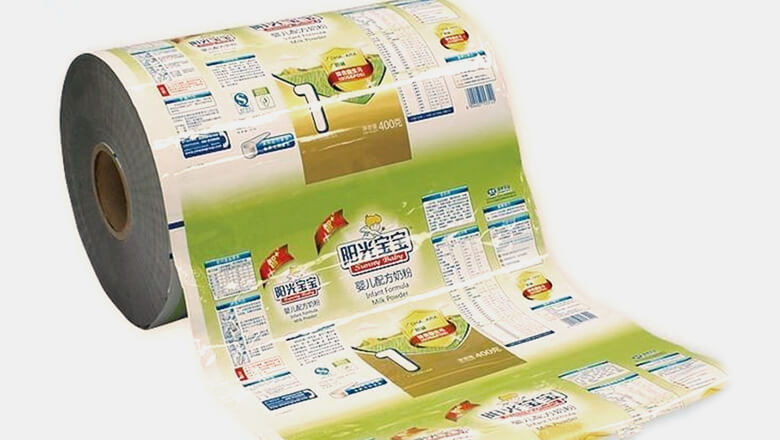 High Transparent plastic film petkj free design for shopping bag-7