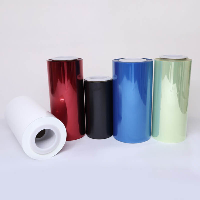 pet color pet film producer for electronics Cailong
