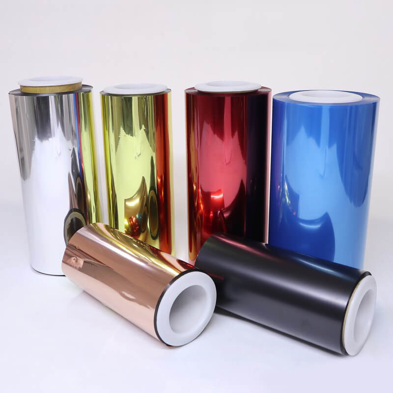 Color Coating transparent color film color factory for electronics-1