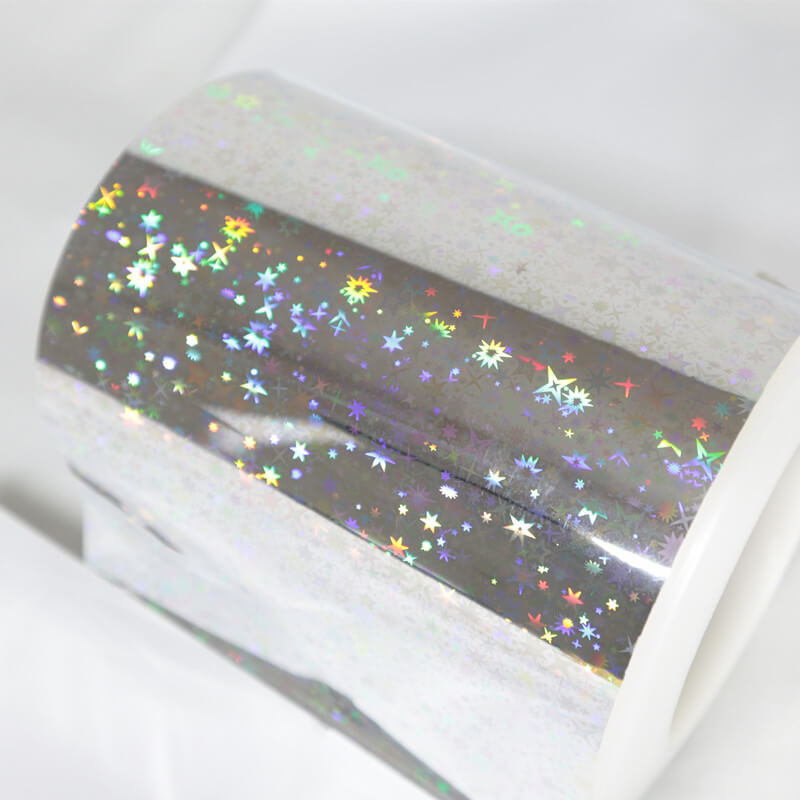 Seamless Holographic Film