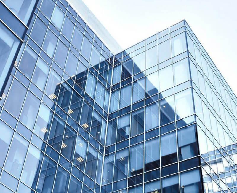Translucent metallized film for building  windows