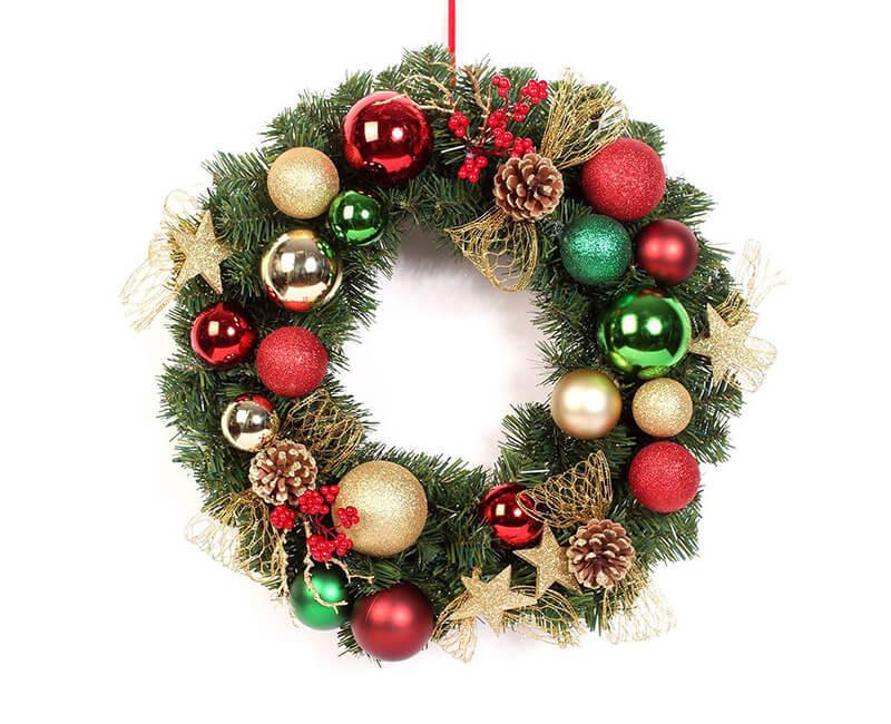 Metallized film for Christmas decoration