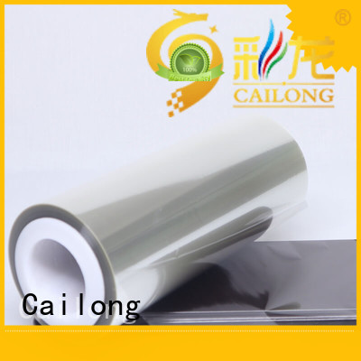 clear film release decorative materials Cailong