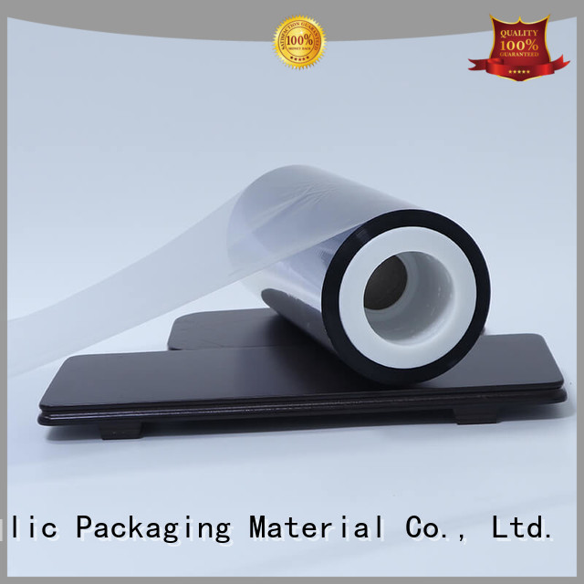 metalized mylar film window for shopping bags Cailong