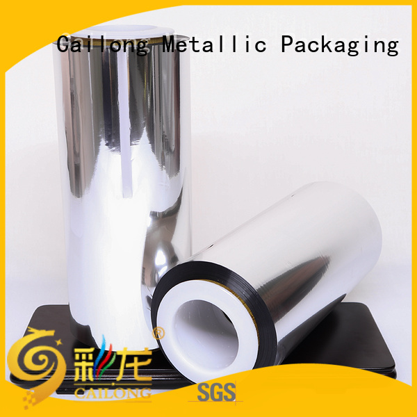 Cailong metallized metalized paper for sale ffor Decorative