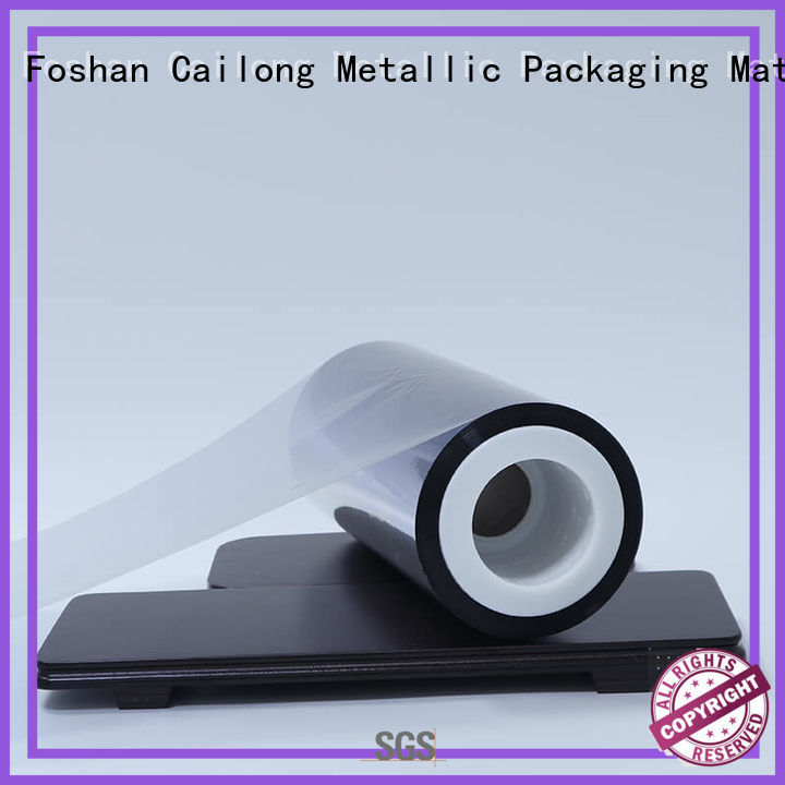 polyester chemical semimetallized metalized film dz Cailong Brand