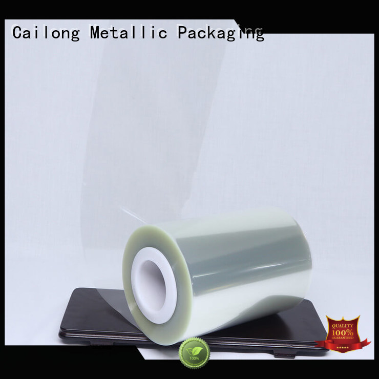 Cailong Plain clear film free quote for medical packaging