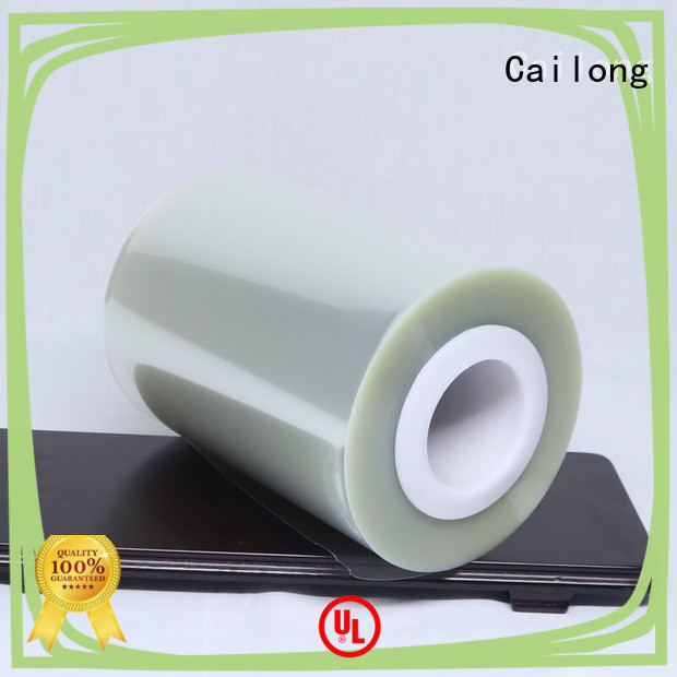 clear polyester film petty used for labels Cailong