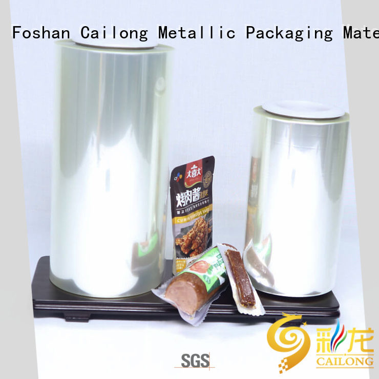 Cailong Protective transparent foil vendor for meat