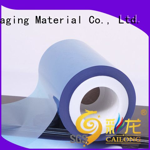 Cailong Color Coating plastic film  supply for materials
