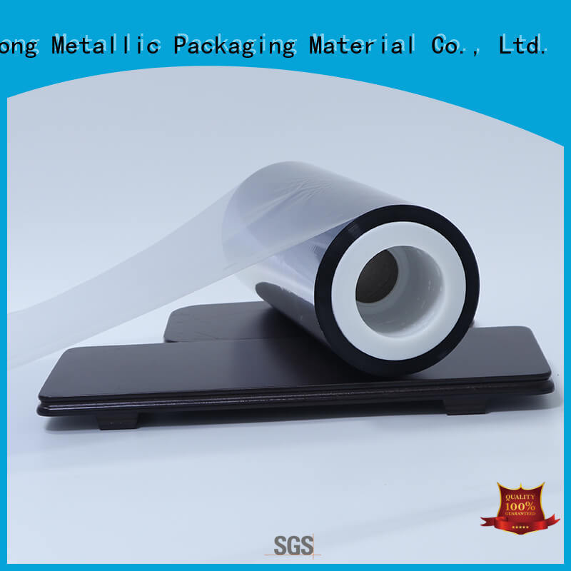 Cailong stripe metalized film owner for cooked food